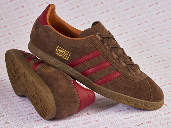 Adidas Archive Trimm Star returns as a Size? exclusive