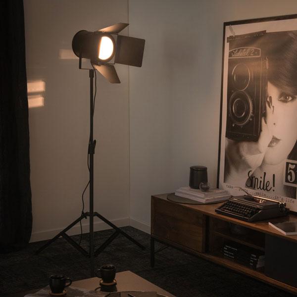 Making Of vintage-style floor lamp at Maisons Du Monde