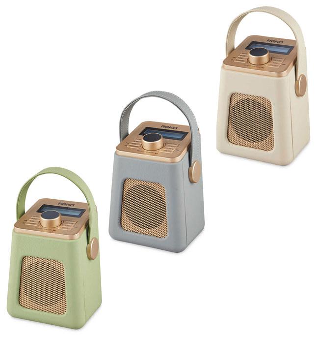 Budget audio: Retro Reka DAB radios at Aldi