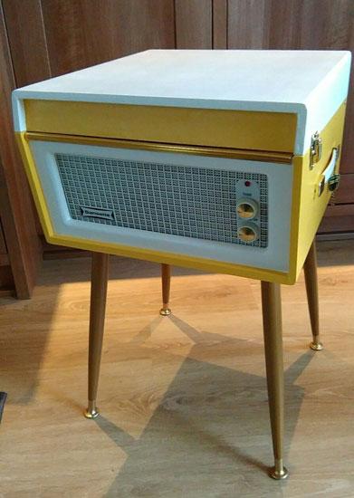 Fully refurbished 1960s Dansette Bermuda record player on eBay