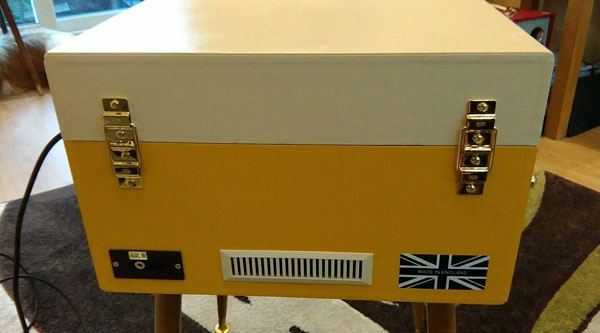 Fully refurbished 1960s Dansette Bermuda record player on eBay