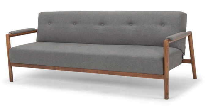 Mr Rigby midcentury-style sofa bed at Calvers and SuvdalMr Rigby midcentury-style sofa bed at Calvers and Suvdal