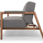 Mr Rigby midcentury-style sofa bed at Calvers and Suvdal