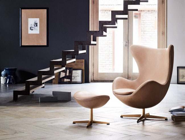 Limited edition 60th anniversary Egg Chair by Arne Jacobsen