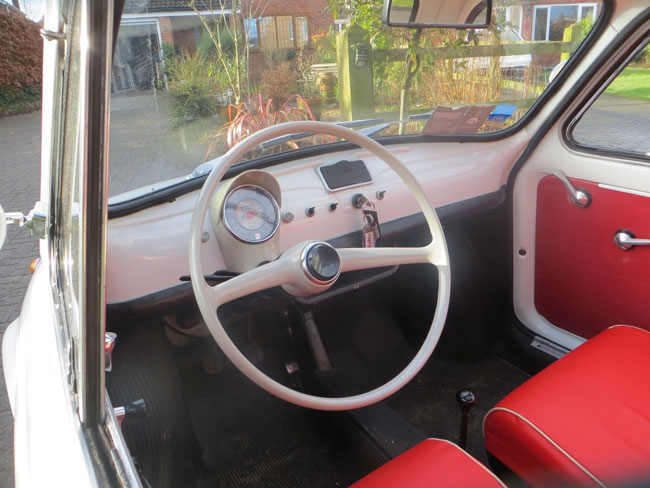 1967 Fiat 500F car on eBay