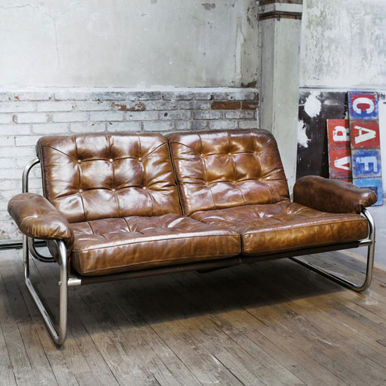 1970s-style Gary sofa at Maisons Du Monde