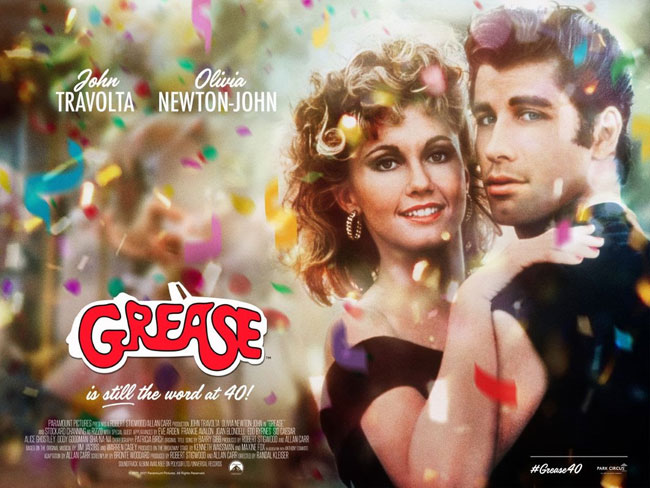 Grease returns to the cinema for 40th anniversary
