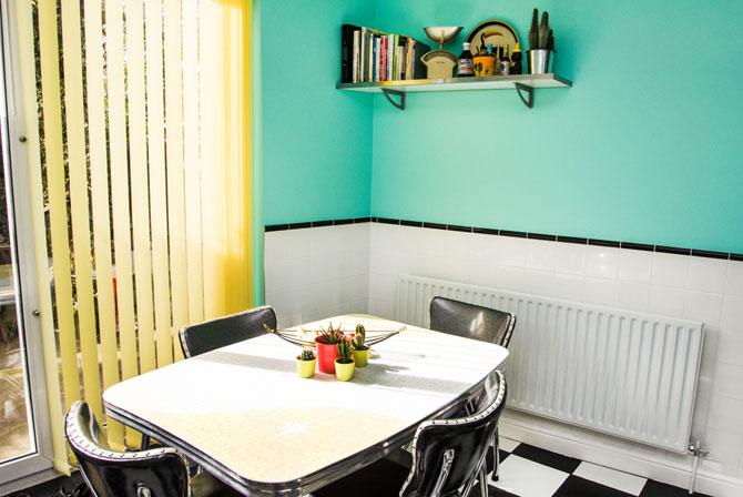 Retro Rooms: Helen's 1950s-inspired kitchen in London