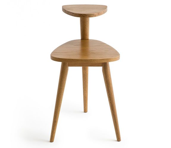 Quilda midcentury double height table at La Redoute