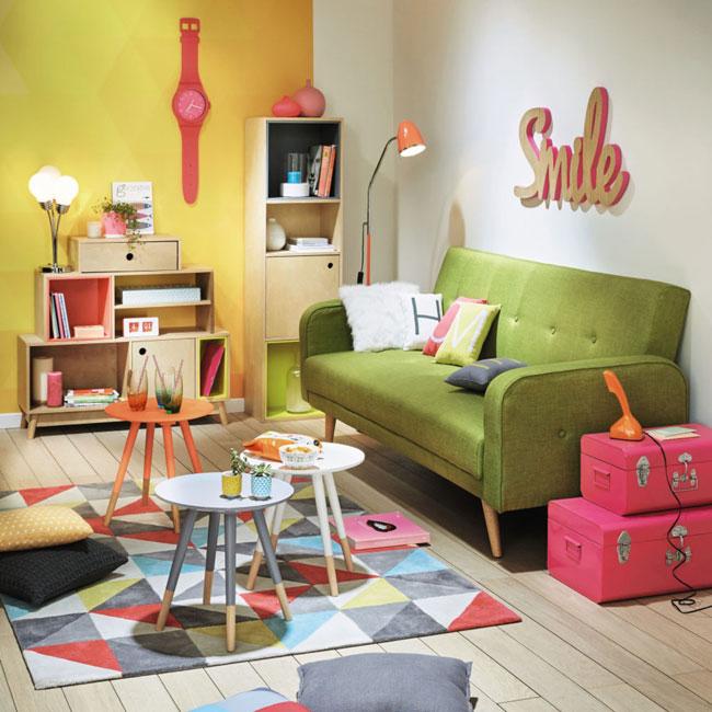 10. Broadway midcentury modern sofa at Maisons Du Monde