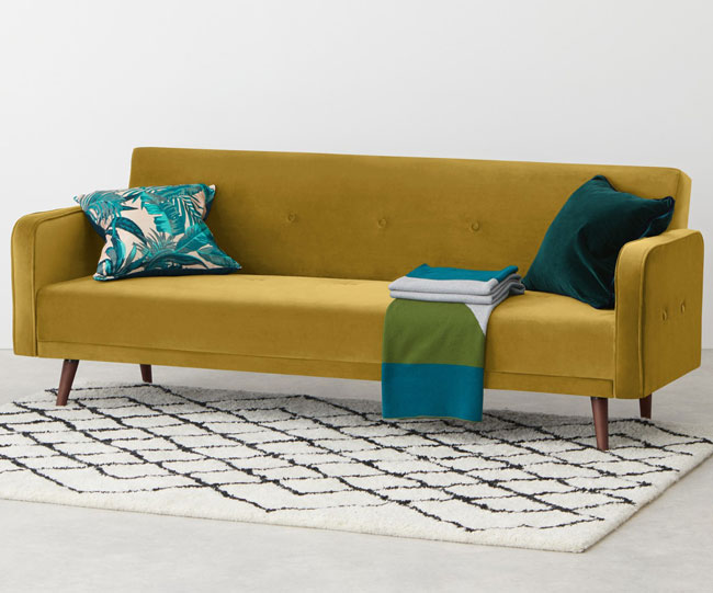 10 of the best midcentury modern sofa beds