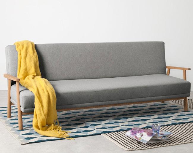 2. Lars Scandi-style sofa bed at Made