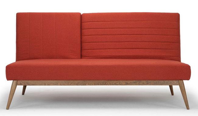 4. Retro sofa bed at Calvers and Suvdal