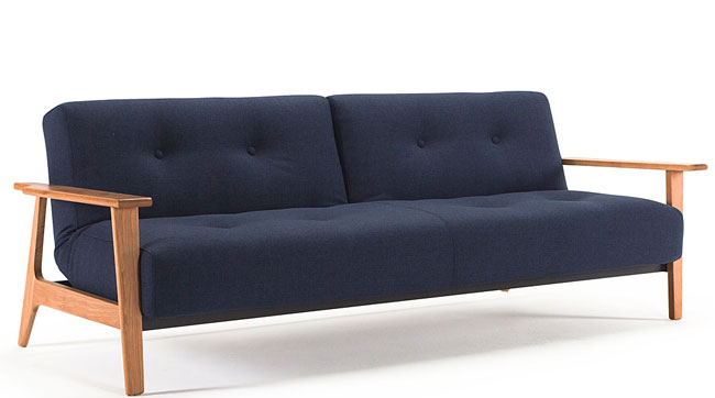 5. Ample Scandi sofa bed at Sit and Sleep