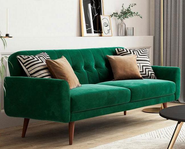 6. Gallway midcentury modern sofa bed at Dreams