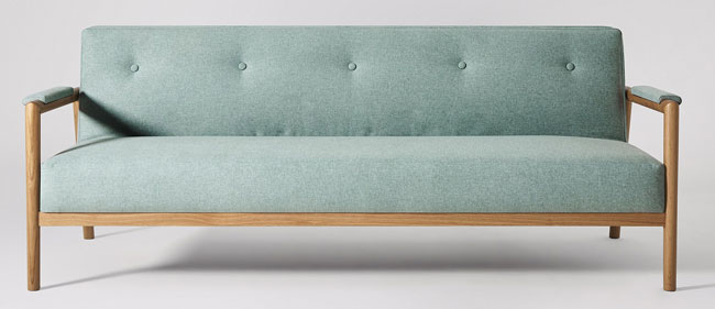 Darcy sofa bed at Swoon Editions