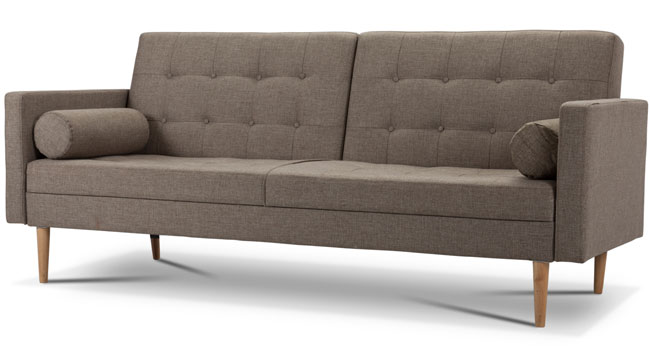 Taylor three-seater sofa bed at Dunelm