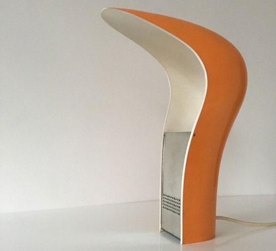1970s Italian Pelota table lamp