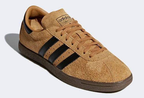 1970s Adidas Tobacco trainers return in two suede finishes