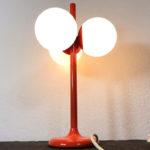 1970s Kaiser tulip globe lamp