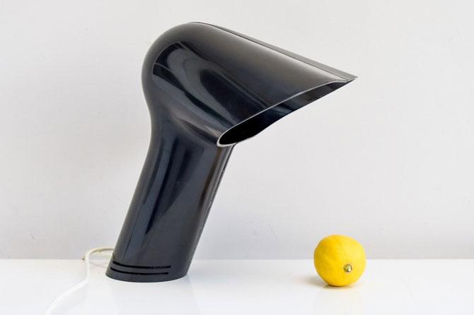 1970s Sorella space age table lamp