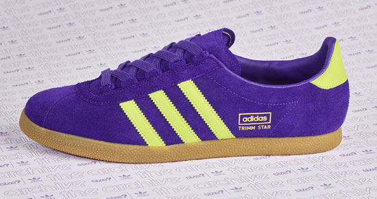 Adidas Archive Trimm Star trainers back in purple