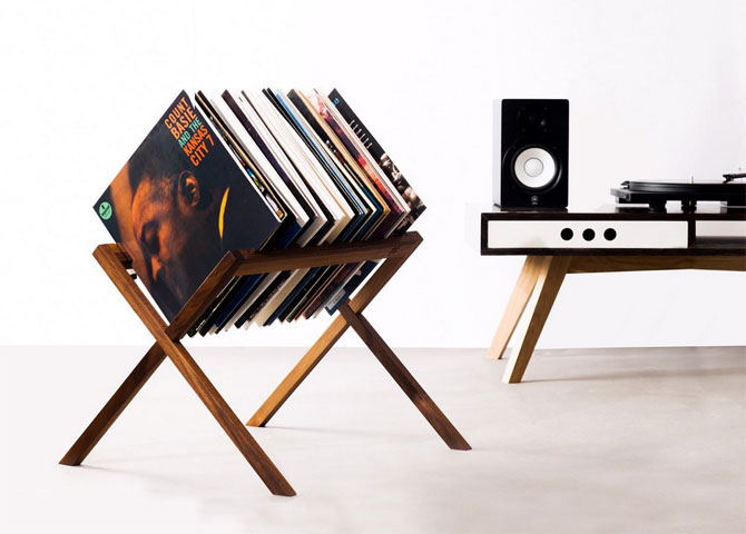 13. The Vinyl Stand by HRDL