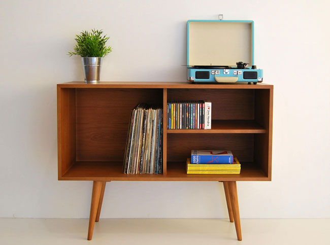 4. Midcentury-style storage unit by Moutinho Store