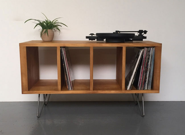 5. Sonor record storage unit by Derelict Design