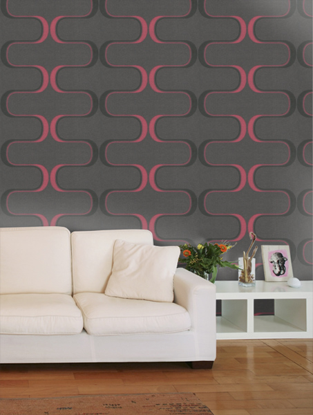 5. Harlequin Contour wallpaper