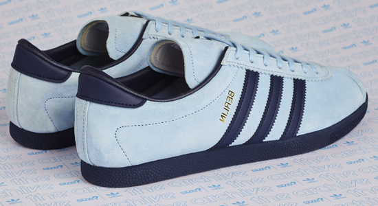 Adidas Archive Berlin OG trainers return in sky blue - Retro to Go
