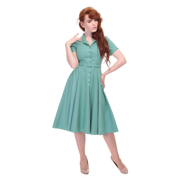 1950s Caterina swing dress at Collectif