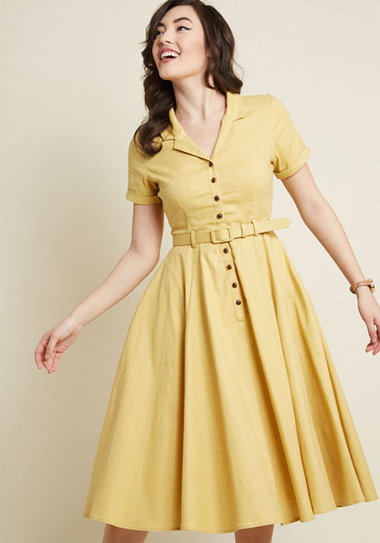dc2bd209eddcc 1950s Caterina swing dress at Collectif 1950s Caterina swing dress at  Collectif