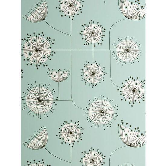Midcentury Dandelion Mobile wallpaper range by MissPrint