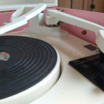 Restored 1960s Dansette Bermuda Record Player in pink on eBay