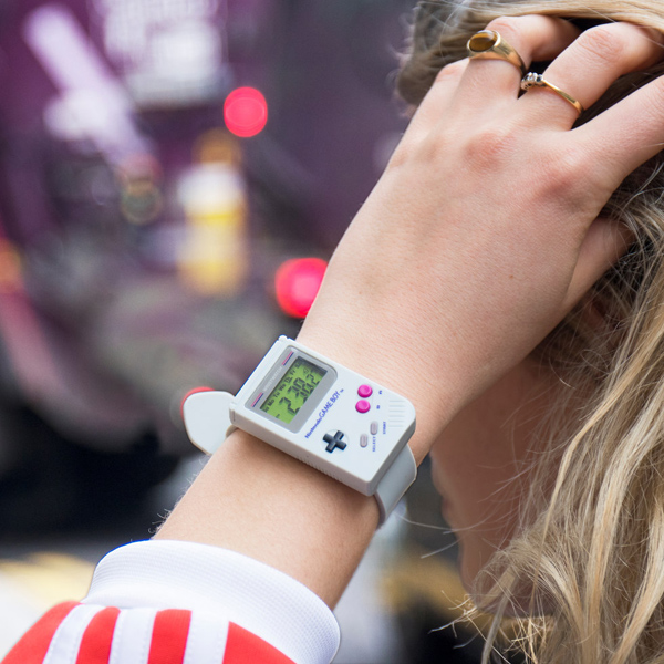 The official retro Game Boy Watch makes its debut