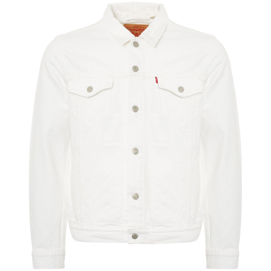 Get set for summer: Levi's white trucker jacket