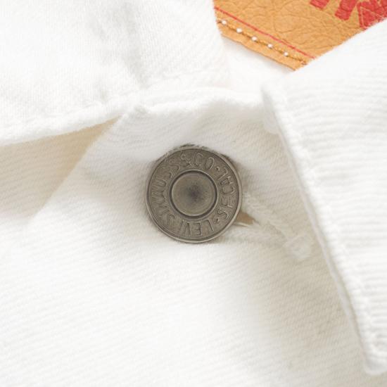 Get set for summer: Levi's white trucker jacket
