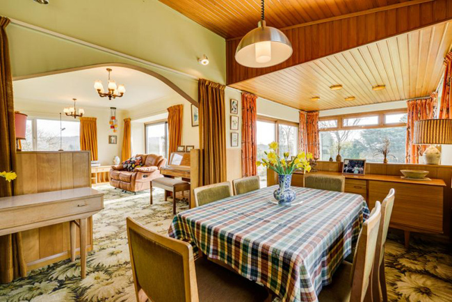 Retro house: 1970s time capsule for sale in Storth, Cumbria