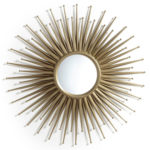 Nihada retro sun mirror at La Redoute