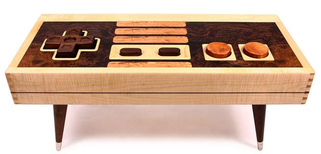 8-bit Retro Gaming Coffee Table by Bohemian Workbench