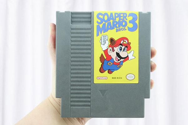 Soaper Mario 3 custom-made soapSoaper Mario 3 custom-made soap