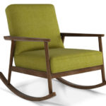 Jemima mid-century rocking chair at Arlo and Jacob