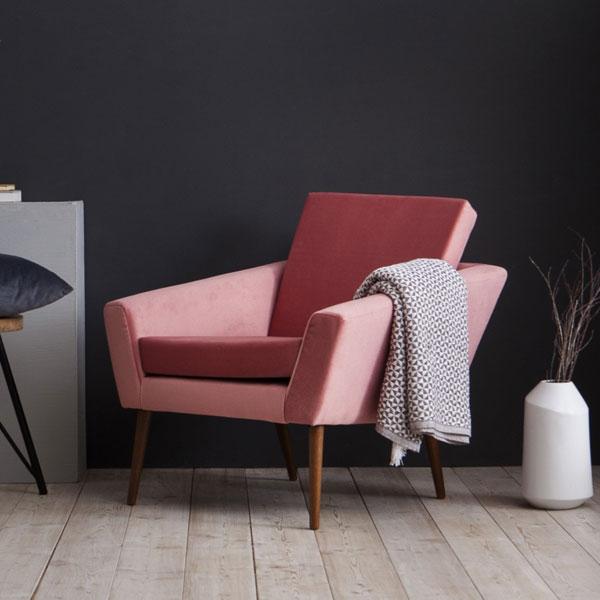 1960s-style Supernova armchair by Sternzeit Design