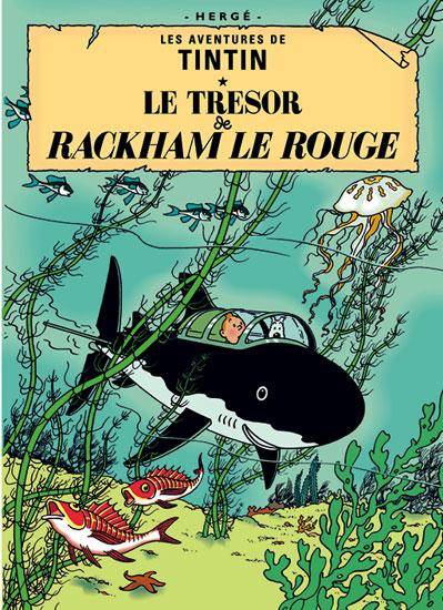 Affordable classics: Tintin book cover posters