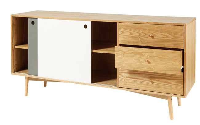 Whisper midcentury modern sideboard at Maisons Du Monde