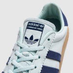 1970s Adidas Bermuda trainers get a green leather makeover