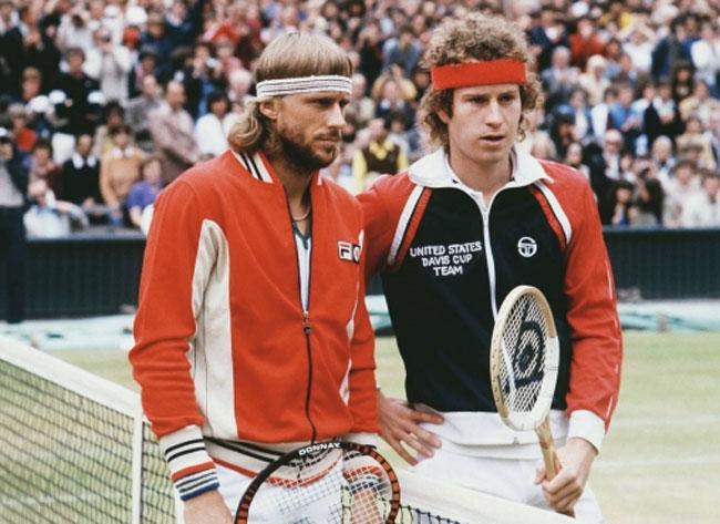 Bjorn Borg style: 1970s Fila Settanta Track Top