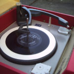 Restored 1960s Dansette RG31 record player and radio on eBay