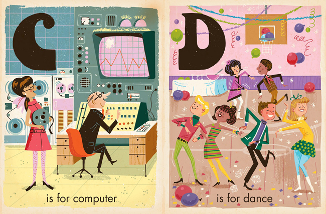 Vintage-style board books for kids by Greg Paprocki